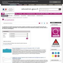 Évaluation et statistiques - Ministère l'Education
