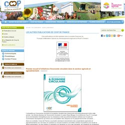Les autres publications de Coop de France