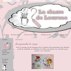 La maternelle de Laurène: Les pyramides du cirque