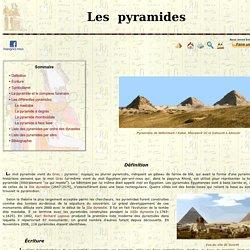 Les principales Pyramides