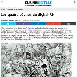 Les quatre péchés du digital RH