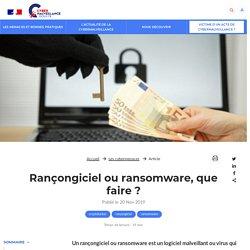 Les rançongiciels (ransomwares)