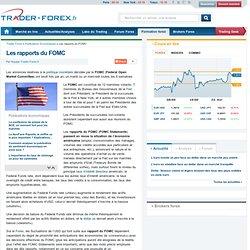 FOMC Statements : définition, chiffres ... - Trader Forex