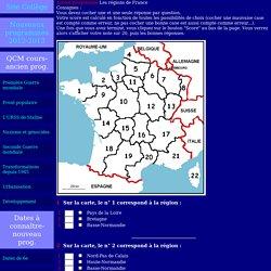 Les r gions de France