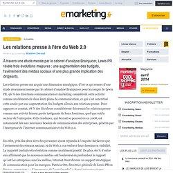 Les relations presse à l'ère du Web 2.0