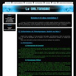 Les Remèdes - Daltonisme TPE 2011