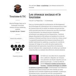 Les réseaux sociaux et le tourisme — Tourisme & TIC