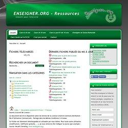 Les ressources d'ENSEIGNER.org