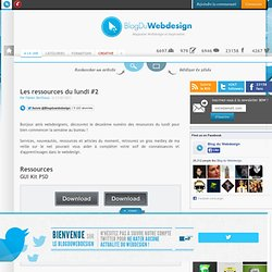 Les ressources du lundi #2 - Blog Du Webdesign Magazine