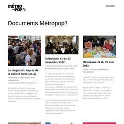 Ressources / Métropop'