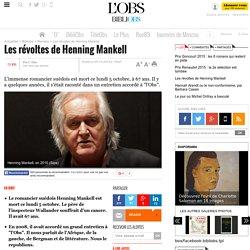 Les révoltes de Henning Mankell