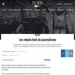 Les robots font du journalisme