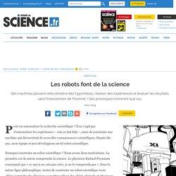Les robots font de la science