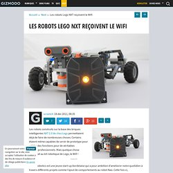 Les robots Lego NXT reçoivent le Wifi