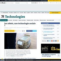 Les robots, une technologie sociale ?
