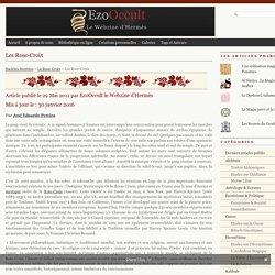 Les Rose-Croix « Autres Sociétés Secrètes « Sociétés Secrètes
