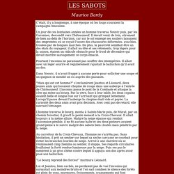 Les sabots - Maurice Bardy