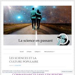 Les sciences et la culture populaire