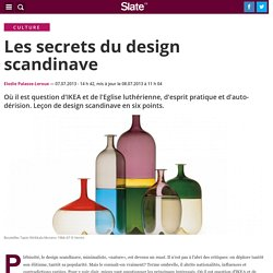 Les secrets du design scandinave