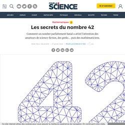 Les secrets du nombre 42