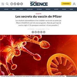 Les secrets du vaccin de Pfizer
