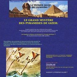 Les secrets des pyramides
