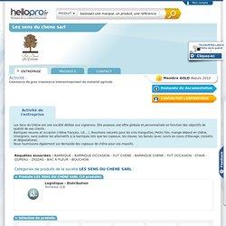 LES SENS DU CHENE SARL sur Hellopro.fr