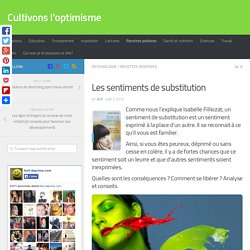 Les sentiments de substitution