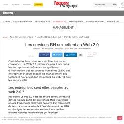 Les services RH se mettent au Web 2.0