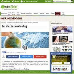 Les sites de crowdfunding