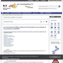Les sites de l'Onisep