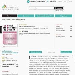 Les sites Web bancaires