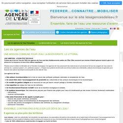 Les six agences de l'eau françaises
