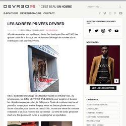 LES SOIRÉES PRIVÉES DEVRED