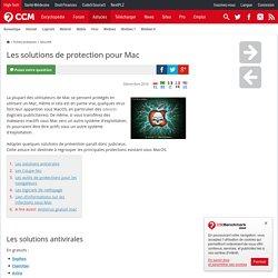 Les solutions de protection pour Mac