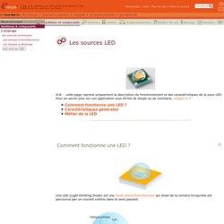 Les sources LED