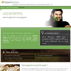 Les sportifs, fiche nutrition - Vegan Pratique