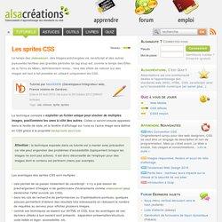 Les sprites CSS - Alsacréations