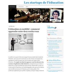 Les startups de l'éducation