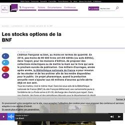 émission France culture sur le dépôt légal à la BNF