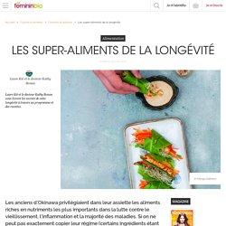 Les super-aliments de la longévité