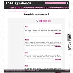 Les symboles commençant par B - Page 2