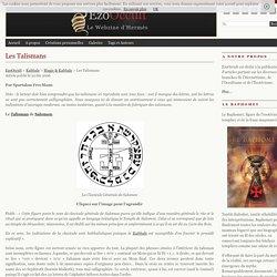 Les Talismans « Magie & Kabbale « Kabbale