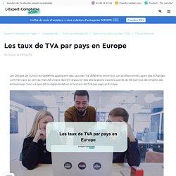 Les taux de TVA par pays en Europe
