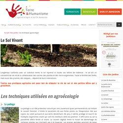 Les techniques agroecologie