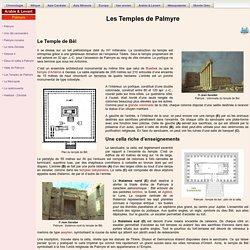 Les Temples de Palmyre