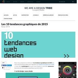 Les 10 tendances graphiques de 2015 - We are a design tribe - CREADS