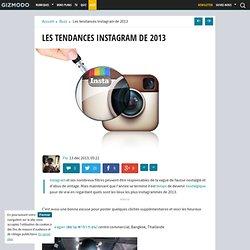 Les tendances Instagram de 2013