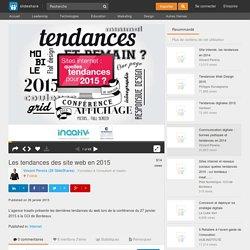Les tendances des site web en 2015