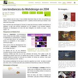 Les tendances du Webdesign en 2014